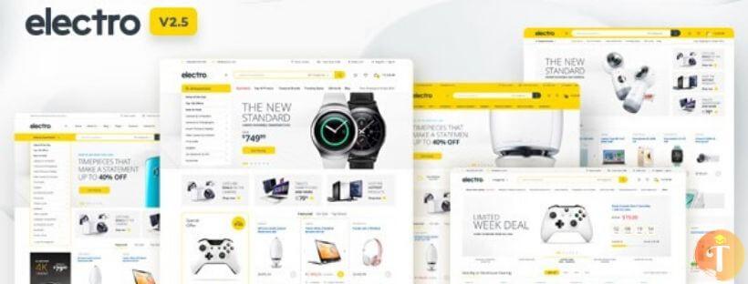 Theme WordPress bán hàng công nghệ