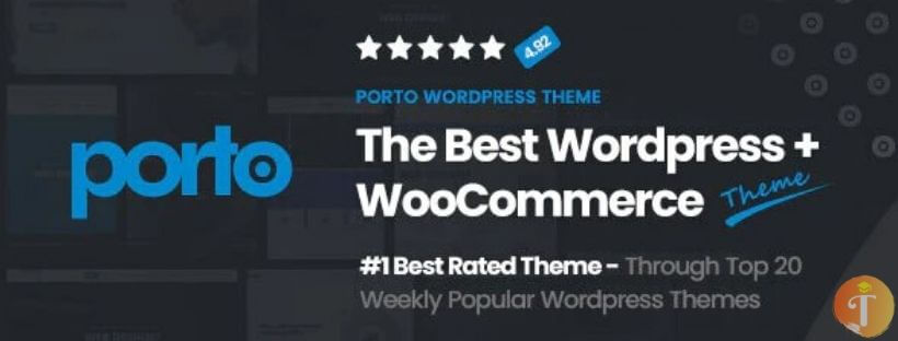 porto - Theme WordPress  bán hàng chuẩn SEO