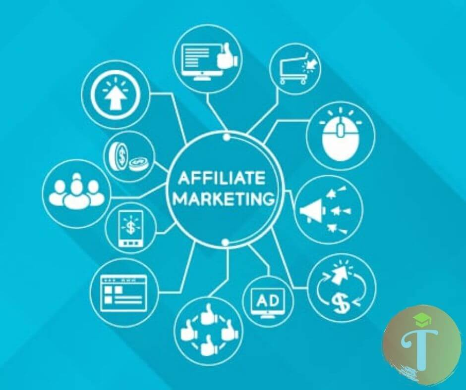 trung gian phân phối Affiliate Marketing